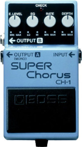 effectpedaal Boss Super Chorus