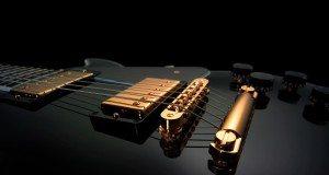 elektrische gitaar wallpaper zwart