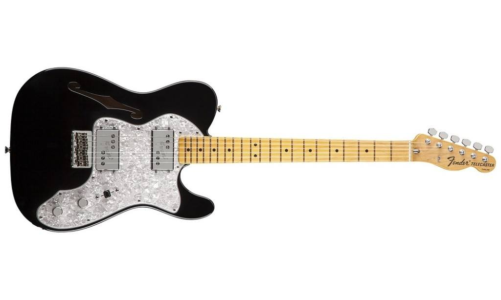 Fender American Vintage 72 Telecaster Thinline gitaar