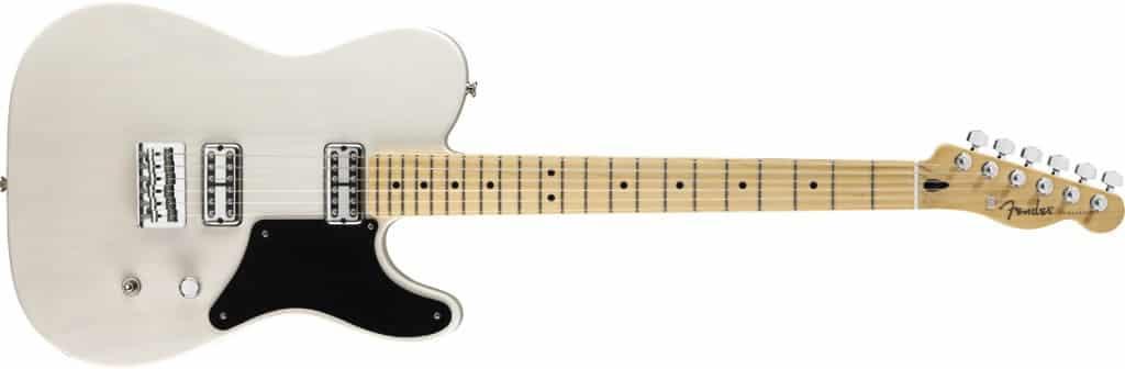 Fender Cabronita Telecaster gitaar wit