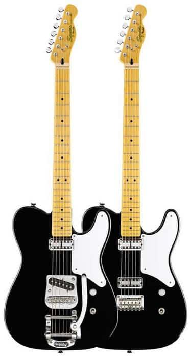 Fender Cabronita Telecaster gitaren zwart