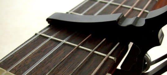 gitaar capo gids