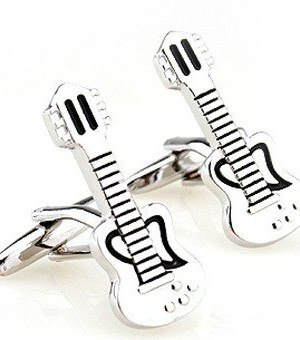gitaar manchetknopen