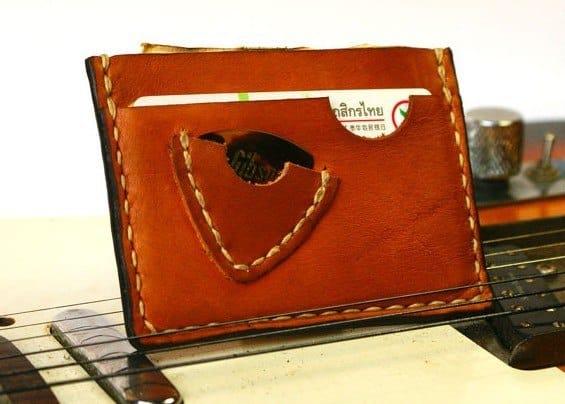 gitaar portefeuille