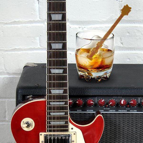 gitaar roerstick voor ijsdrankjes
