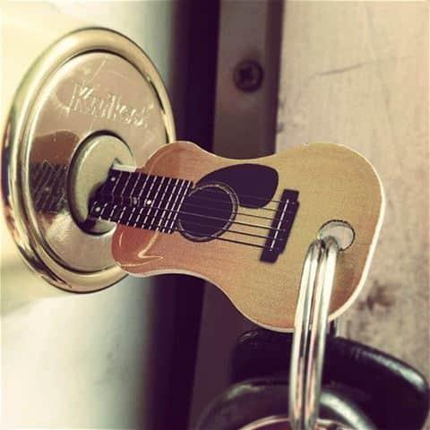 gitaarvormige sleutel