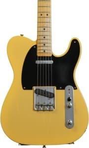 Fender Road Worn '50s Telecaster gitaar close