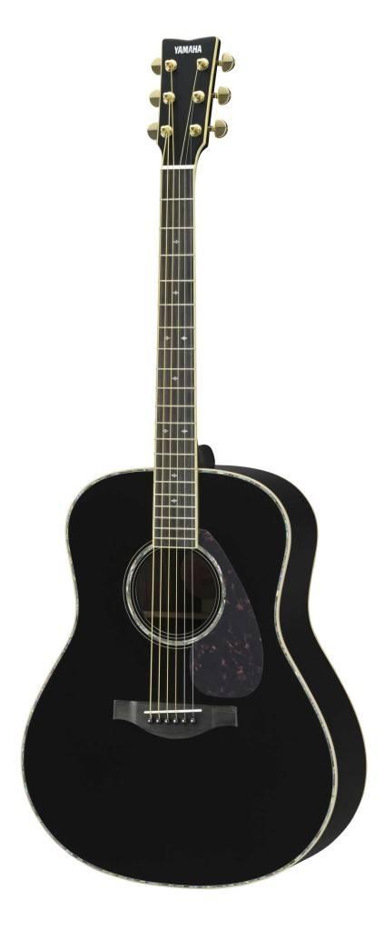 Yamaha LL16D ARE gitaar zwart