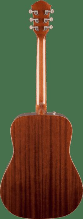 achterkant akoestrische gitaar