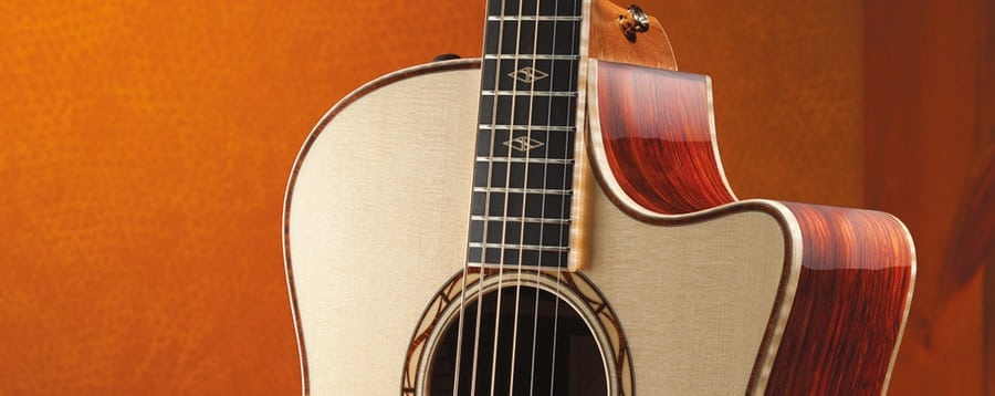 akoestrische gitaar cutaway