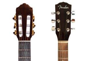 elektrische gitaar hals